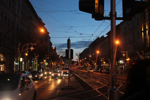 Stadsliv i Budapest