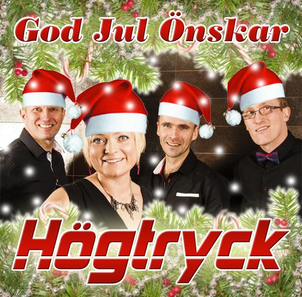 Högtryck önskar God Jul
