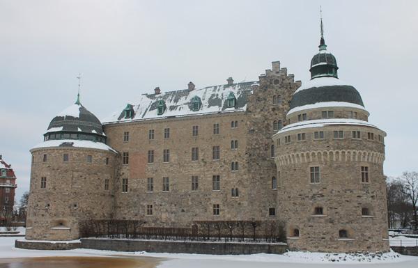 Örebro slott i Vinterskrud