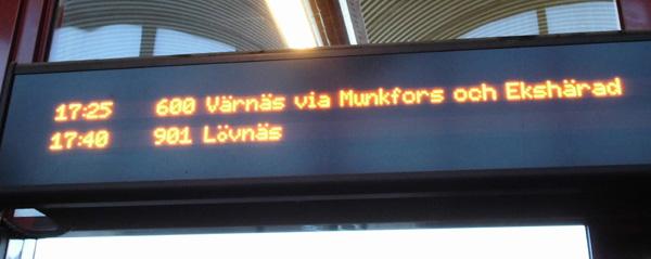 På väg till Höljes