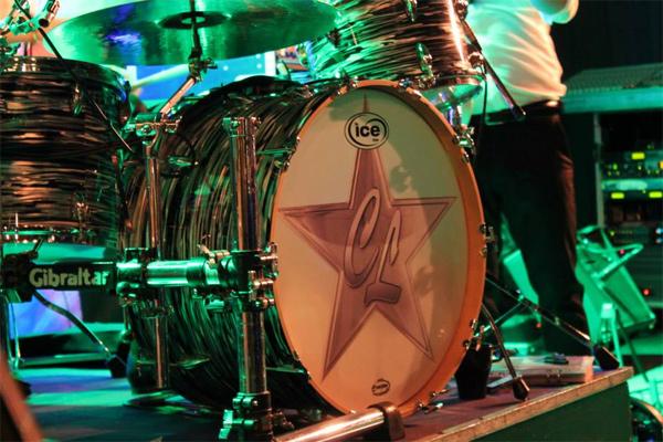 Andys snygga trummor