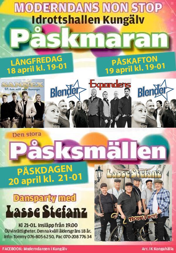 Stor dansfestival i Kungälv
