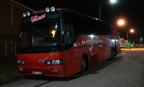 Wizex turnébuss