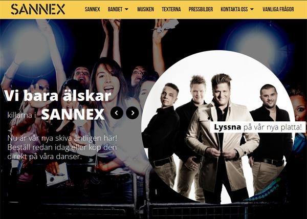 Sannex ny webbplats