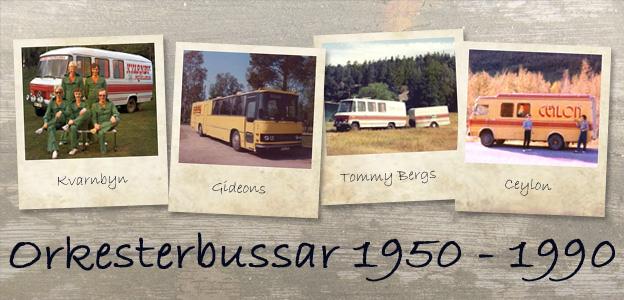 Bandbusser 1950 - 1990