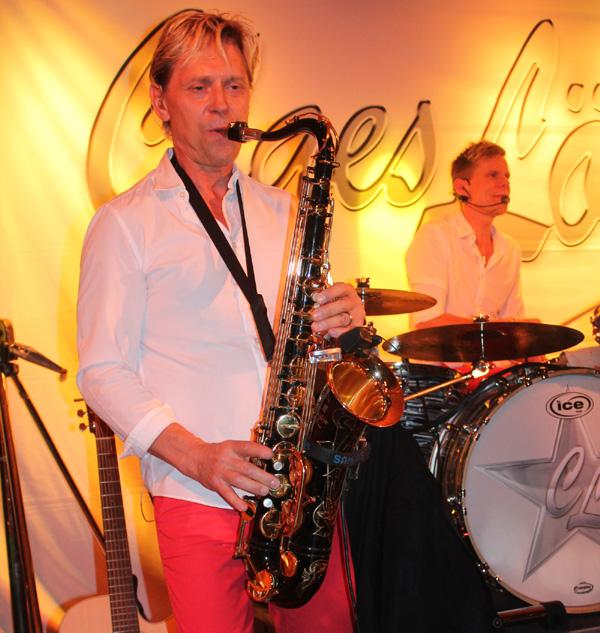 Antti med sitt underbara saxspel