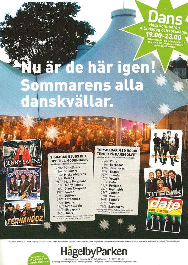 Hågelbyparken - Sommarparadiset för dans i Stockholm