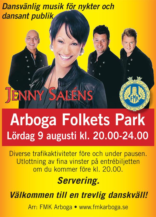 Jenny Saléns till Arbogaparken