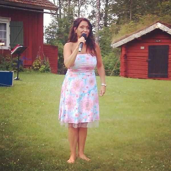 Christina Lindberg på Kärnåsen