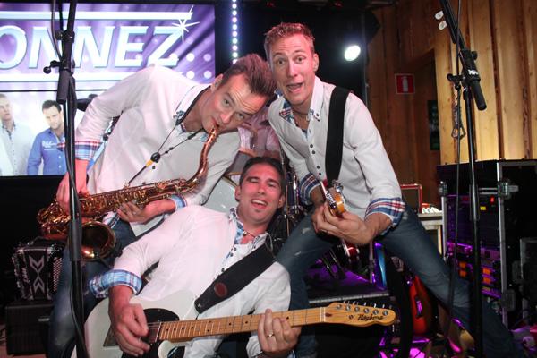 Simon, Rickard och Micke showar