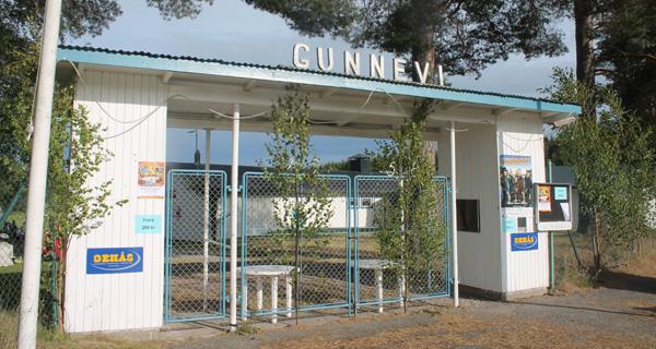 Entrén till Gunnevi festplats