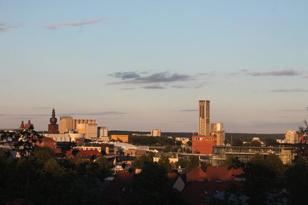 Utsikt över Västerås