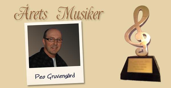 Årets Musiker: Peo Gruvengård Jannez