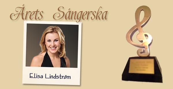 Årets sångerska: Elisa Lindström