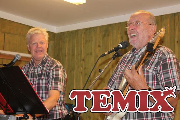 Temix spelade på Kristinehamns Hembygdsgård