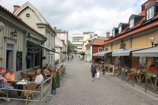 Gamla hus i Västerås