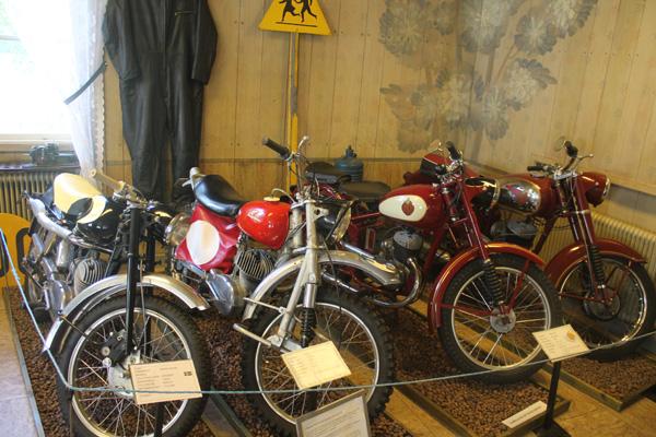 Mc-museet Gyllene Hjulet