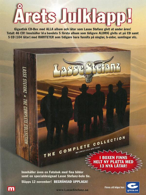 Lasse Stefanz med ny samlingsbox