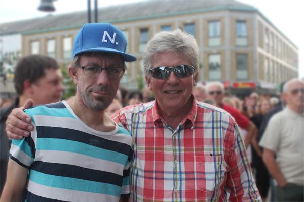 Jag och Ove Pilebo
