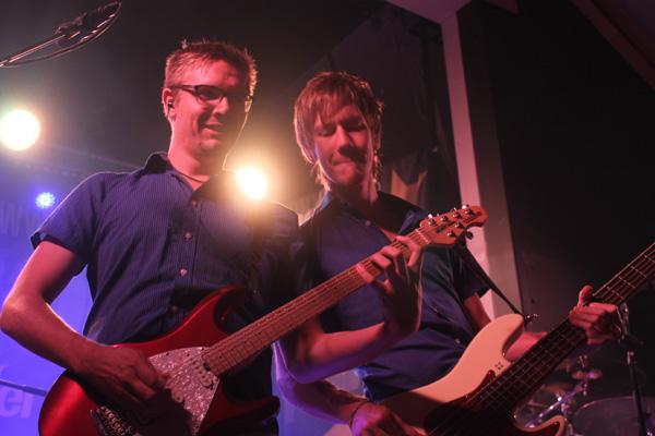 Robert och Erik i Blender