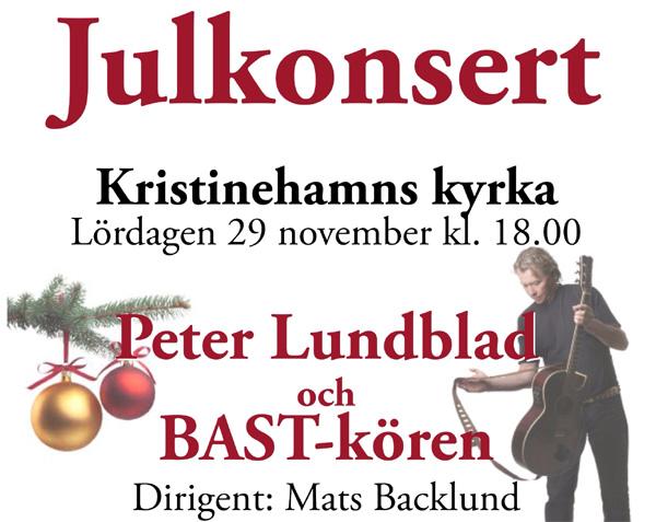 Julkonsert med Bastkören