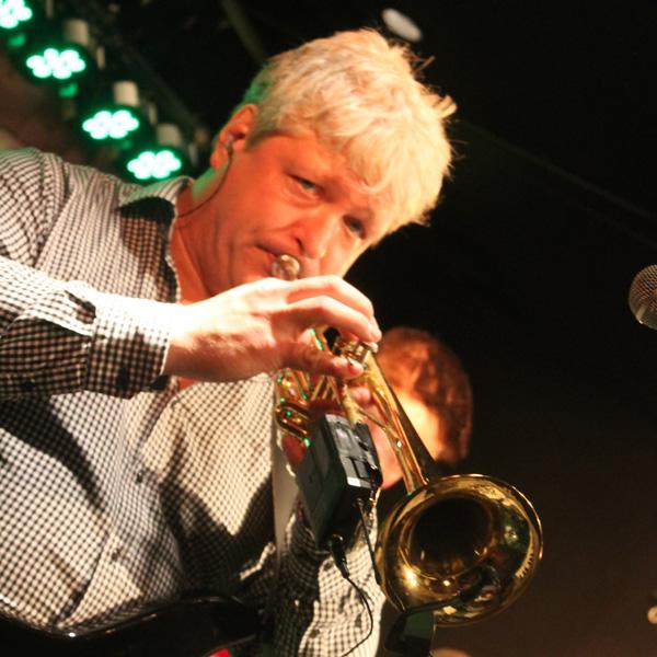 Conny med sin trumpet