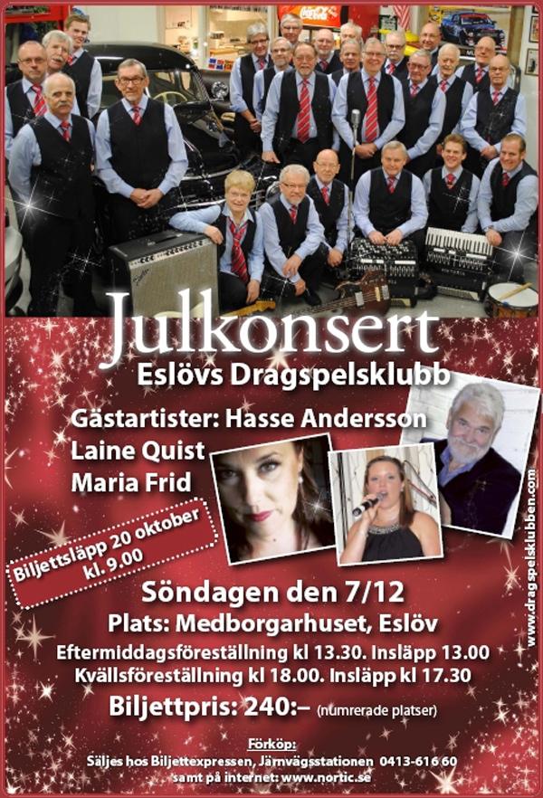 Julkonsert i Eslöv