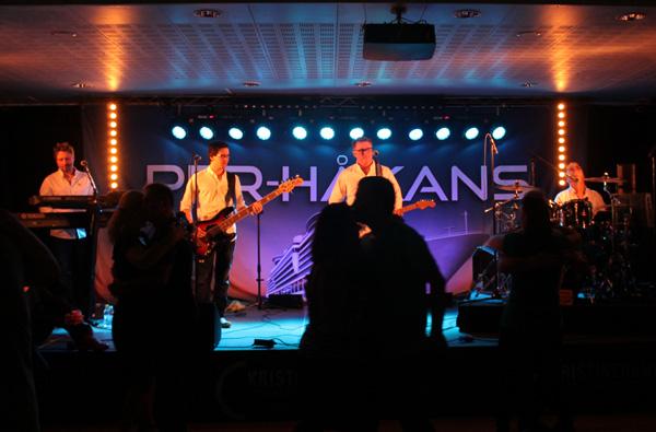 Per-Håkans på scenen