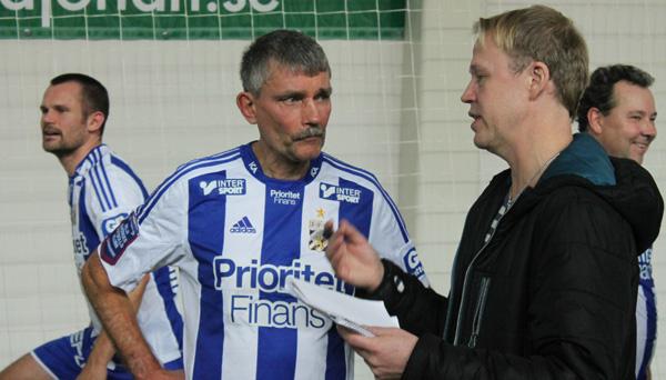 Ruben Svensson intervjuas