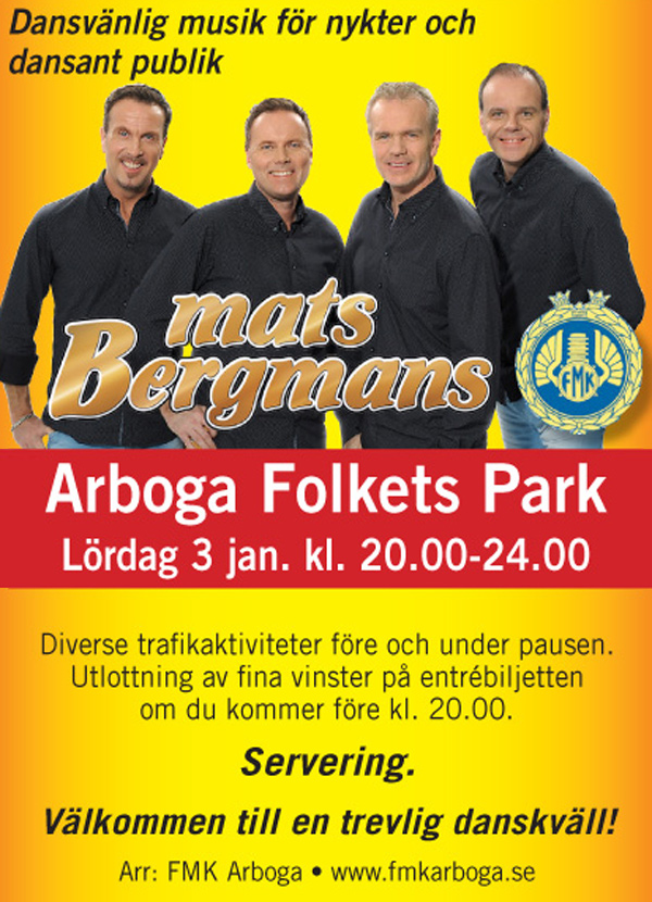 Mats Bergmans i Arbogaparken