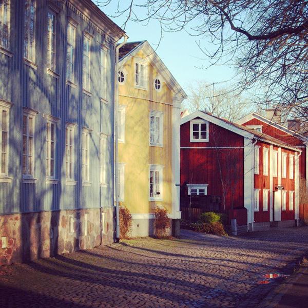 Trädgårdsgatan i Kristinehamn