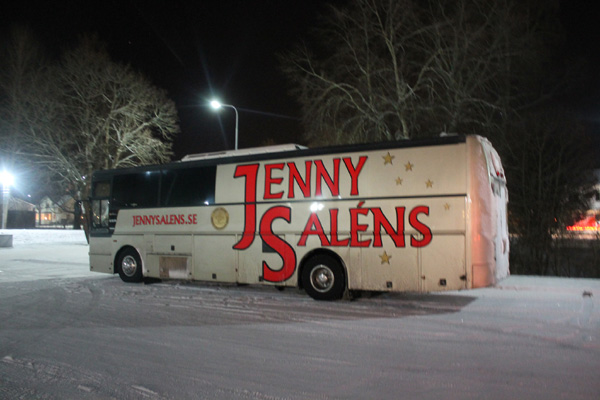 Jenny Saléns orkesterbuss