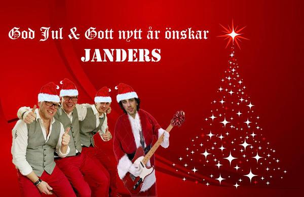 Julkort från Janders
