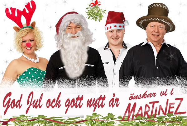 Martinez önskar God Jul