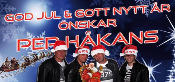 Per Håkans önskar God Jul