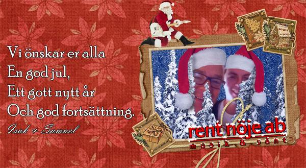 Ett Rent Nöje att önska God Jul