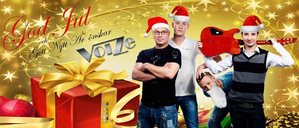 Voize önskar God Jul