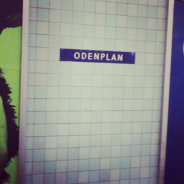 Odenplans tunnelbanestation