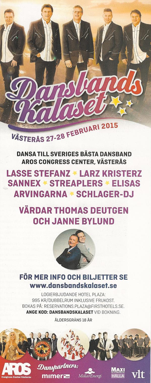 Dansbandskalaset i Västerås