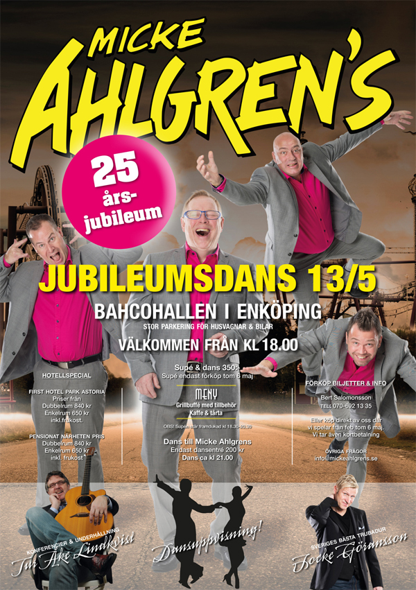 Micke Ahlgrens 25-års jubileum