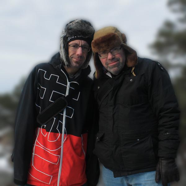 Jag och brorsan