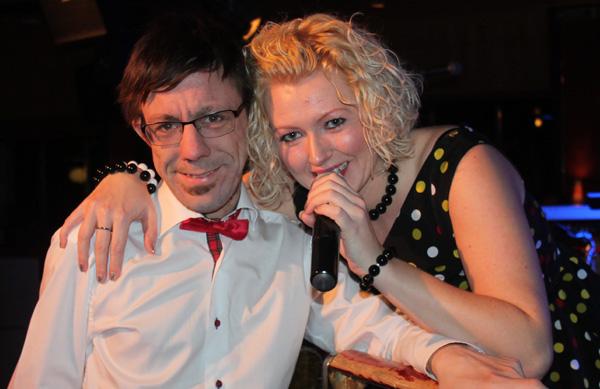 Jag och Sandra Estberg i Martinez