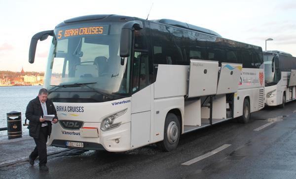 Birka bussen med Bengt-Göran