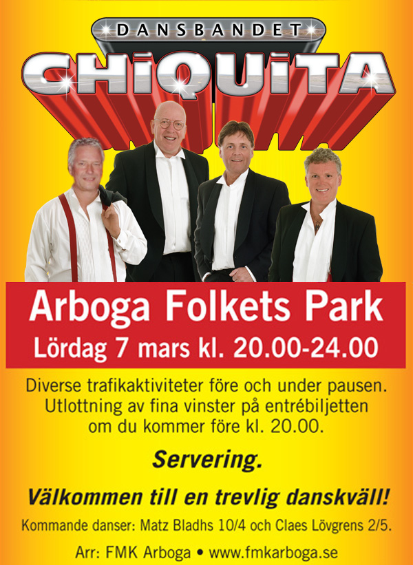 Chiquita i Arboga Folkets Park