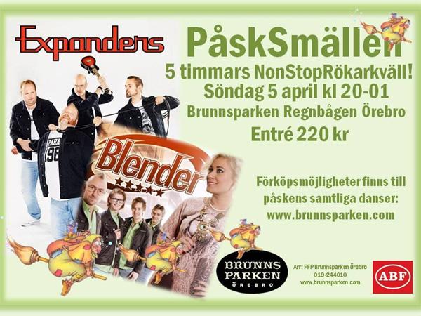 Påsksmällen på Brunnsparken Örebro